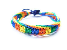 braided friendship bracelet images Handmade colorful braided friendship bracelets set of 12 ring jpg