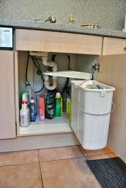 garbage can under the sink kitchen cabinet trash can under sink trash can with lid kitchen