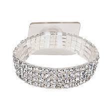 wrist corsage bracelet rock candy silver corsage bracelet corsage creations