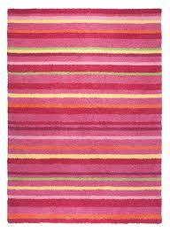 moquette rose fushia tapis chambre enfant raye funny stripes rose de la collection esprit