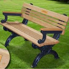Recycled Plastic Benches For Schools Commercial Park Benches Bus Stop Benches Memorial Bench