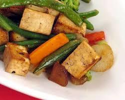 cuisiner tofu poele recette sauté rapide au tofu et légumes