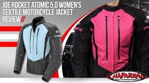 womens motorcycle clothing joe rocket atomic 5 0 womens textile motorcycle jacket review