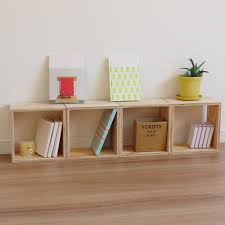 Wooden Box Shelves by Okubora Rakuten Global Market Cube Self Box Shelf Wooden Box