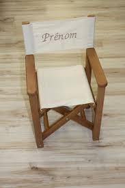 chaise de realisateur fauteuils rotin metteur en scène toile autour de bebe