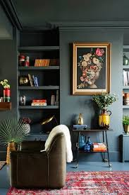 Best  Black Walls Ideas On Pinterest Dark Walls Dark Blue - Colorful walls living rooms