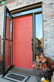 painting your front door the easy way the diy village fast diy painted front door and door paint suggestions magic brush