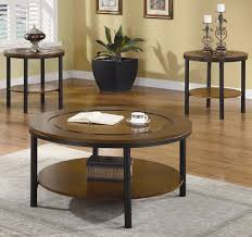 Set Of Tables For Living Room Coaster Occasional Table Sets Coffee And End Table Set W Marble