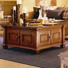 Rustic Square Coffee Table With Storage Coffee Tables Remarkable Brown Square Rustic Wooden Storage