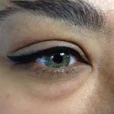eyeliner tattoo images tattoo top lid eyeliner before and after google search beauty