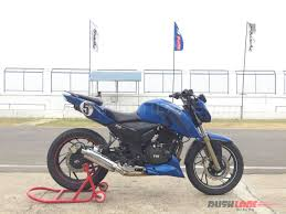 tvs motocross bikes tvs apache rtr 200 race bike and tvs racing experience
