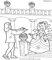 cinderella coloring pages coloring pages download print