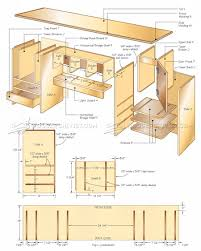 desktop organizer plans u2022 woodarchivist