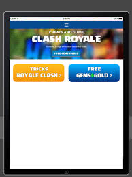 guide and cheats for clash royale free gems gold on the app store