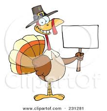 happy thanksgiving signs royalty free rf clipart illustration of a happy thanksgiving