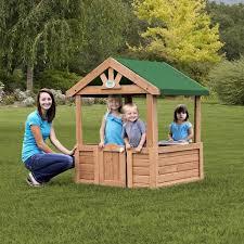 Backyard Cedar Playhouse by Assembly Manuals And Instructions Backyard Discovery