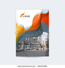 abstract cover design business brochure template stock vector