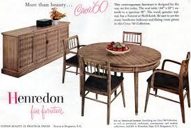 henredon dining room furniture circa 60 collection buffet table