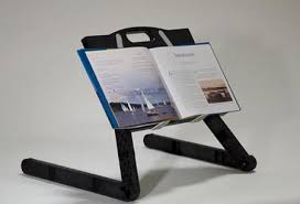 book reading stand for desk lying down on the job reclined computing with your laptop