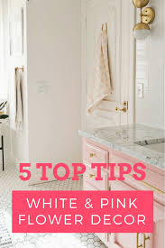 blog commenting sites for home decor 5 top tips for white pink home decor using real touch artificial