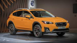 subaru crosstrek white 2018 subaru xv gets sharper with a new platform more powerful engine