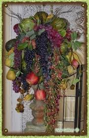 fruit floral arrangements large silk flower arrangements foter
