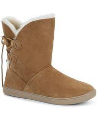 lord ugg arielle dyed sheepskin ugg genuine dyed sheepskin lined insole boot in