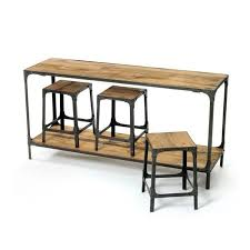 american table and chairs loft industrial furniture american country old retro wood dining