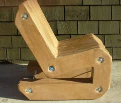 How To Make A Cardboard Chair Cardboard Cantilever Chair 4 Steps With Pictures