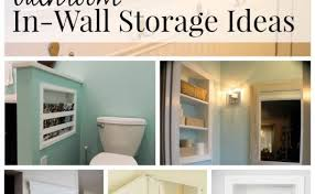 bathroom wall ideas 26 simple bathroom wall storage ideas shelterness 2 verdesmoke