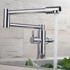 Pot Filler Kitchen Faucet 2018 2015 Wholesale Solid Brass Deck Mounted Extended And Cold
