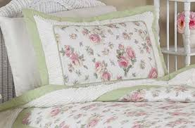 Shabby Chic Floral Bedding by Roses Shabby Chic Floral Pillow Sham By Sweet Jojo Designs