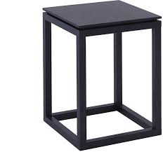Black Side Table Cordoba Modern Small Side Table Black Wenge Finish Tables