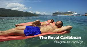 wedding honeymoon registry royal caribbean international honeymoon registry