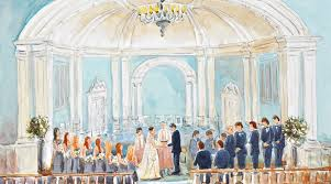 paint places art as entertainment live wedding painting at ceremonies and