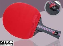 Dhs Table Tennis by Stiga Carbon Hybrid Wood 9 8 Table Tennis Racket Ping Pong