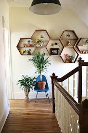 diy wood honeycomb shelves designs house design and decor