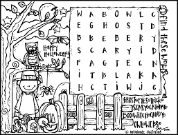 free halloween printable activities 100 ideas halloween coloring pages activities on bestcoloringkids us