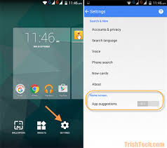 disable app android disable app suggestions in now launcher for android