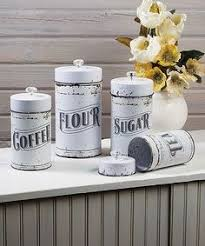 vintage style kitchen canisters vintage kitchen canisters 4 set flour sugar coffee tea