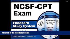 audiobook flashcard study system for the ncsf cpt exam ncsf test