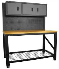 Rubbermaid Computer Desk Garage Knockout Best Garage Wall Cabinets Design Ideas Craftsman