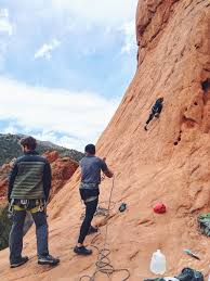 Rock Climbing Garden Of The Gods Falling In With Colorado Antoinette