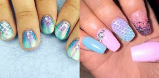 the ultimate guide to mermaid nails how to be a redhead