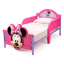 disney minnie mouse 3d toddler bed toys