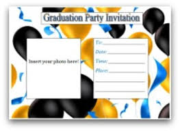 fabulous graduation invitations and graduation party ideas