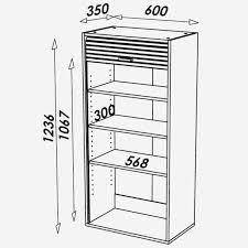 profondeur meuble cuisine largeur meuble cuisine beautiful meuble haut cuisine profondeur 30