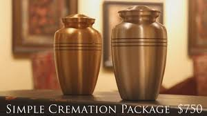 simple cremation simple cremation package 750