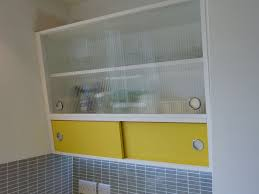 kitchen wall cabinets uk 1950 s style angled wall cabinet with formica and reeded