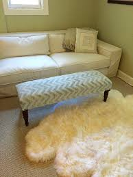 Living Room Rugs At Costco A Cheaper Better Sheepskin Rug Lorri Dyner Design